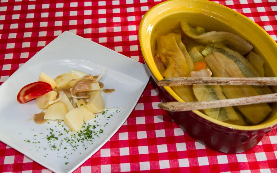 Filets de harengs pommes tièdes