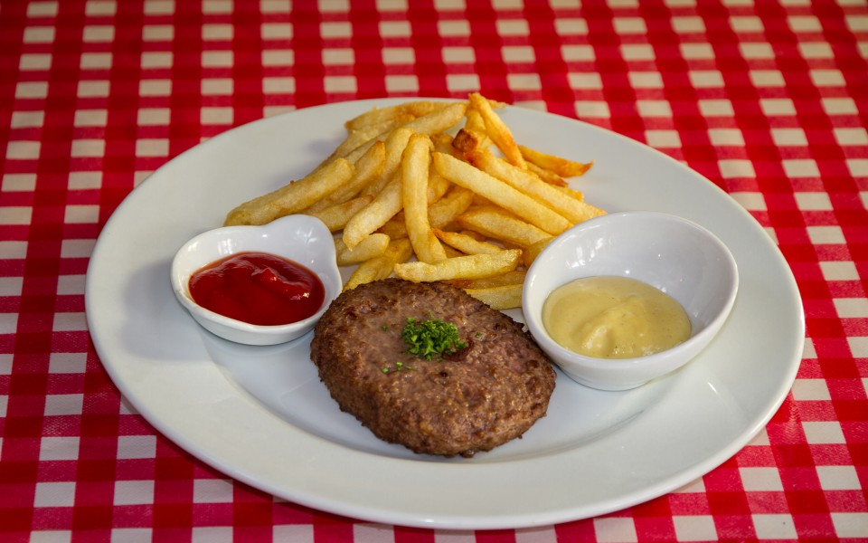 Steak haché frites